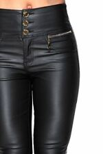 Unbranded Leather High Rise Jeans for Women