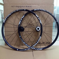Aluminum MTB Front Rear Wheels 7-11 Speed Disc Brake Rims Wheelset 26/27.5/29er