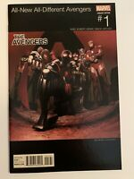 ALL NEW ALL DIFFERENT AVENGERS #1 HIP HOP VARIANT COVER MILES MORALES COMIC BOOK