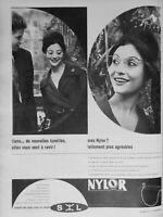 PUBLICITÉ DE PRESSE 1960 NYLOR NOUVELLES LUNETTES TELLEMENT AGRÉABLE