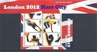 GB Presentation Pack M11 2005 London 2012 Host City Olympic Games