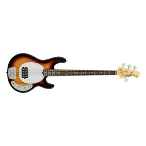 Sterling by Music Man Ray24CA Bass Guitar - 3-Tone Sunburst
