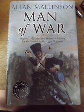 MAN OF WAR BY ALLAN MALLINSON 2007 HARDBACK BOOK