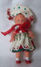 Alte Puppe Püppchen mit Tracht Trachenpuppe Spreewald