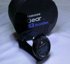 Samsung - Gear S3 Frontier Smartwatch 46mm - Space Gray (Open Box)