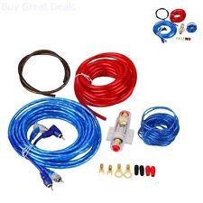 Car Audio Amplifier Wiring Subwoofer Amplifier Installation Kit AMP Wire Sound