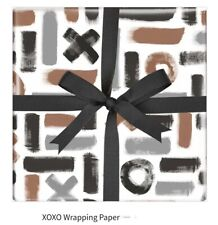 Father's day birthday gift wrapping paper XoXo 50cmx70cm 1 sheet
