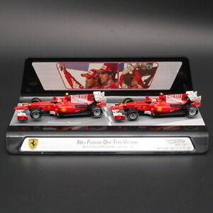 Hot Wheel F1 Racing Car 1:43 Ferrari 80th Ferrari One-Two Victory Diecast model