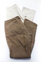 Vineyard Vines Mens Straight Leg Corduroy Pants Brown White Size 35 36 Lot 2