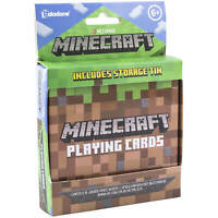 Minecraft Playing Cards with Tin - Official Product - Alex Steve Zombie Creeper