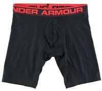 "Under Armour Mens Black 9"" Boxerjocks Sz M 2801"