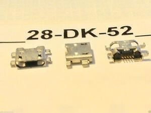 2 Pièces Connecteur Recharge Jack Micro USB Dock Charge Pour Archos 70 Copper 3G
