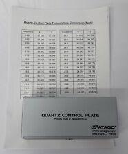 Quatz Contol Plate Atago 34 degree RE 72045