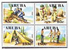 Aruba 2010 Padvinderij Scouting Boy-Scouts MNH