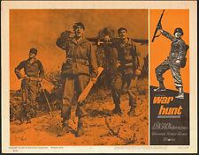 KOREAN WAR HUNT original 1962 lobby movie poster ROBERT REDFORD/SYDNEY POLLACK