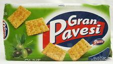 Gran Pavesi Cracker Olive u. Kräuter  250 g/100 g=1,36 € Nr.5903