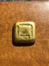 Vintage Johnson Matthey Poured .996 Gold Bar * 5 Tolas * 1.87oz! * X-Rare *