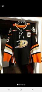 Adidas NHL Anaheim Ducks jersey #15 Getzalf New Size 52 Fight Strap Runs Small