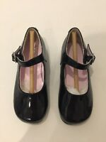 Nina Girls  Bonnet Black Patton Leather Shoes!! Size 6M Brand New In Box!!!