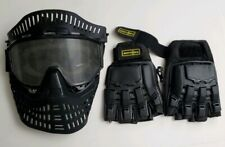 Paintball Goggles Faceguard with Gloves