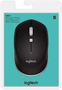 Logitech M535 Bluetooth Optical Mouse Black