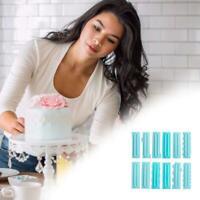 3Pcs  Cake Scraper Plastic Dough Icing Fondant Decorating Baking Pastry Tools
