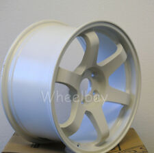 4 PCS ROTA WHEEL GRID 17X9  5X114.3 42 73 WHITE