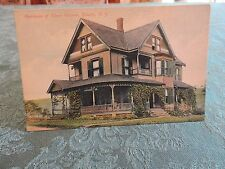 1900s Elmer Wisner House Liberty Catskill New York NY mailed Post Card