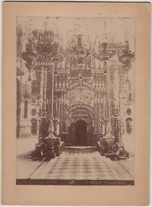 foto photo albumina Gerusalemme Santo Sepolcro 1880 c.a.