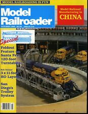Model Railroader Magazine October 1989 Model Railroad Manufacturing in China