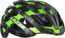 Lazer Z1 Helmet: Matte Black/Camo Flash Green, MD