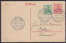 DR ZD W 68 EF Fernbrief, Frankfurt - Aschaffenburg 11.02.1941, Zusammendruck