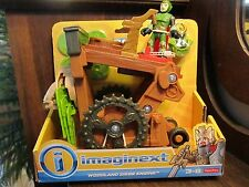 Fisher Price Imaginext NEW Weapon disks Woodland Siege Engine Lion Den Castle