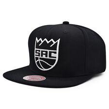 Sacramento Kings Mitchell & Ness BLACK WHITE Snapback NBA Hat