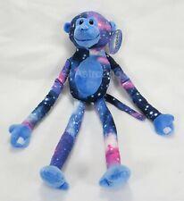 Blue Monkey-Fiesta Plush Stuffed Animal Universe Galaxy Space Stars Astronomy