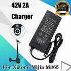 Elektroroller Ladegerät Adapter Ladegerät 42V 2A für Mijia M365 Ninebot