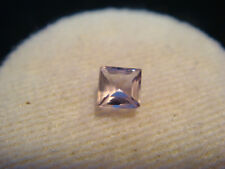 Amethyst Gemstone Princess Cut 3.5 mm x 3.5 mm 0.35 Carat Natural Gem