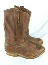 Red Wing Pecos 1155 Brown Leather Work Western Boots Men's Size: 7 EE