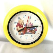 Winnie The Pooh Wall Clock Kids Room Decor Pooh and Piglet  Rare