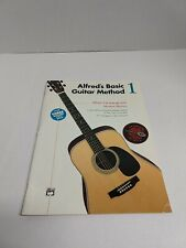 Alfreds Basic Guitar Method Level 1 Booklet Third Edition