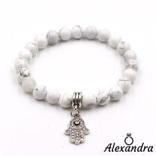 020031b8b6f0 Pulsera Mano de Fatima Fátima Suerte Cuentas Hombre Mujer amuleto Charms  Gift