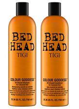 Tigi Bed Head Colour Goddess Shampoo 750ml + Conditioner 750ml Tween Duo