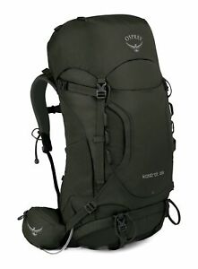 Osprey Kestrel 38 S / M Rucksack Wanderrucksack Tasche Picholine Green Grau