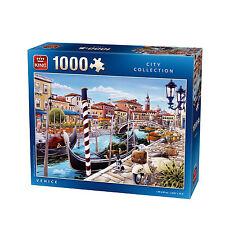 1000 Piece City Collection Jigsaw Puzzle ROMANTIC VENICE CANALS GONDOLAS 05362
