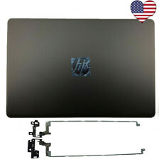 HP 17-BS 17-BS049dx 17-bs011dx Lcd Back Cover 933298-001 926489-001 + Hinges USA