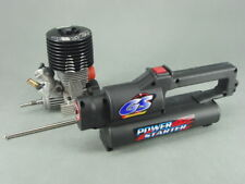 GS Racing R25MT CNC Engine Head Drill-start Nitro Engine & Power Starter <NEW>