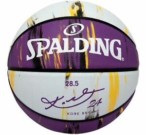 "Spalding Kobe Bryant MARBLED SNAKE 28.5"" Purple Basketball Mamba NBA New Limited"