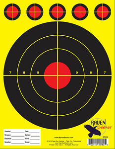 """""""100"""" QUALITY RANGE PAPER SHOOTING TARGETS! Limited Quantities! VERY POPULAR!"""