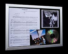RAMONES Pinhead Gabba LTD Numbered CD FRAMED DISPLAY!!