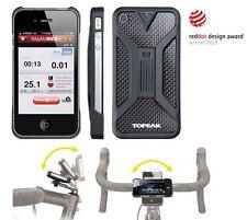 Topeak Handyhalter RideCase für Apple iPhone 4/4S Fahrradhalter  schwarz / black
